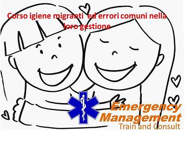 emergency management corso igiene migrati