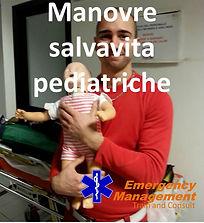 emergency management maovre salvavita pediatriche