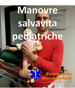 emergency management corso manovre salvavita pediatriche