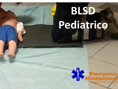 emergency management corso blsd pediatrico