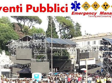 anti terrorismo sicurezza pubblici eventi e manifestazioni