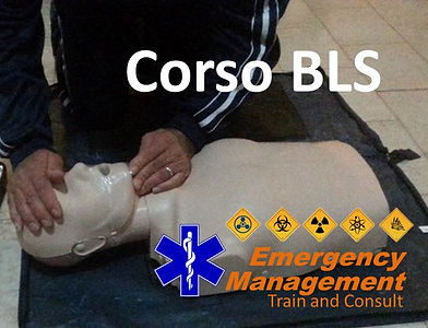 emergency management corso bls