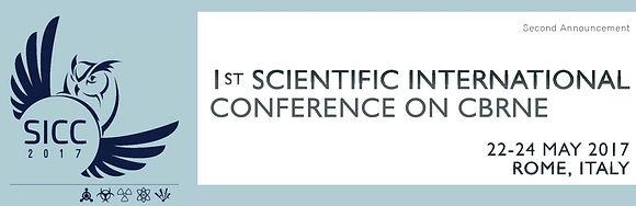 """1st SCIENTIFIC INTERNATIONAL CONFERENCE ON CBRNE, [zelinotti], """"zelinotti"""""""