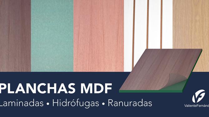 Crea tu proyecto con MDF hidrófugo