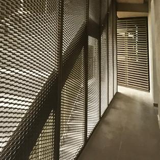 DIvisiones de Laminas de metal perforada