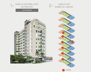 El cliente nos solicitó que en la página pudiera visualizarse en tiempo real las ventas registradas de los apartamentos.
