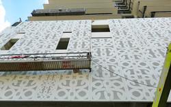 planchas de metal perforado