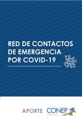 Portada Red de Contactos de Emergencia por COVID-19