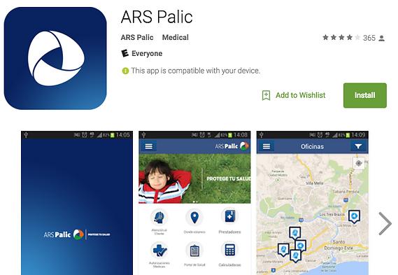 Descarga aquí la APP de ARS Palic para sus afiliados.
