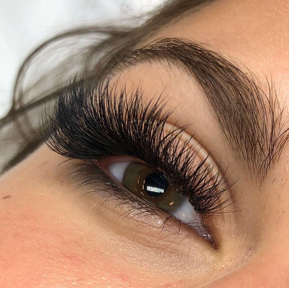 Eyelash extensions by My MInk Lashes & Training Academy