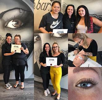 Eyelash Extension Training Victoria BC