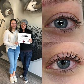 Lash Lift and Lash Tinting Training - My Mink Lashes & Training Academy
