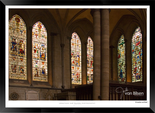 Images of Salisbury Cathedral - 008 - Jo