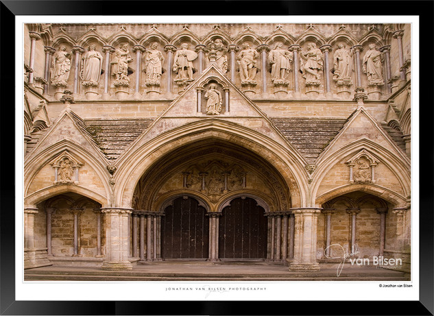 Images of Salisbury Cathedral - 004 - Jo