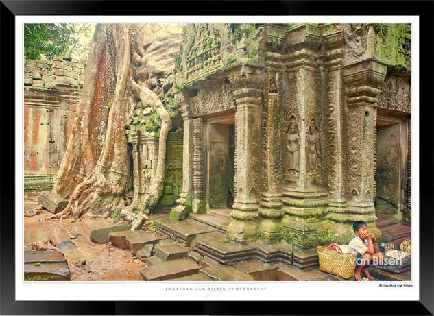 Trees of Angkor Thom - 018 - Jonathan va