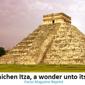 Chich'en  Itza: a wonder unto itself