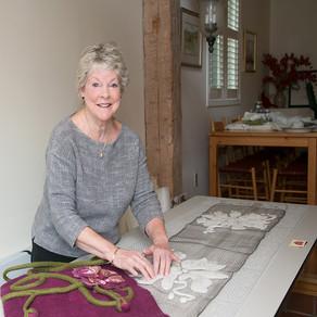 Libbie Burns: Fibre Artist
