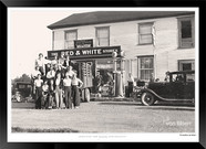 Historic Port Perry - Utica - Red & Whit