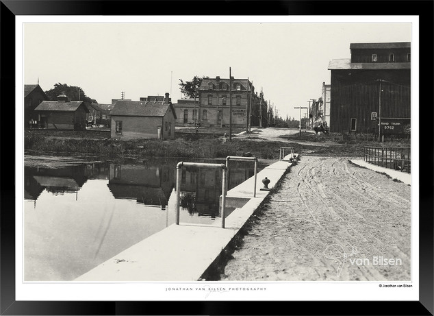 Historic Port Perry - Looking West from