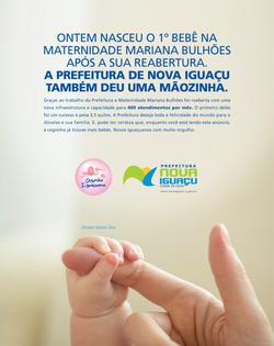 Prefeitura de Nova Iguaçu - 1º Bebê