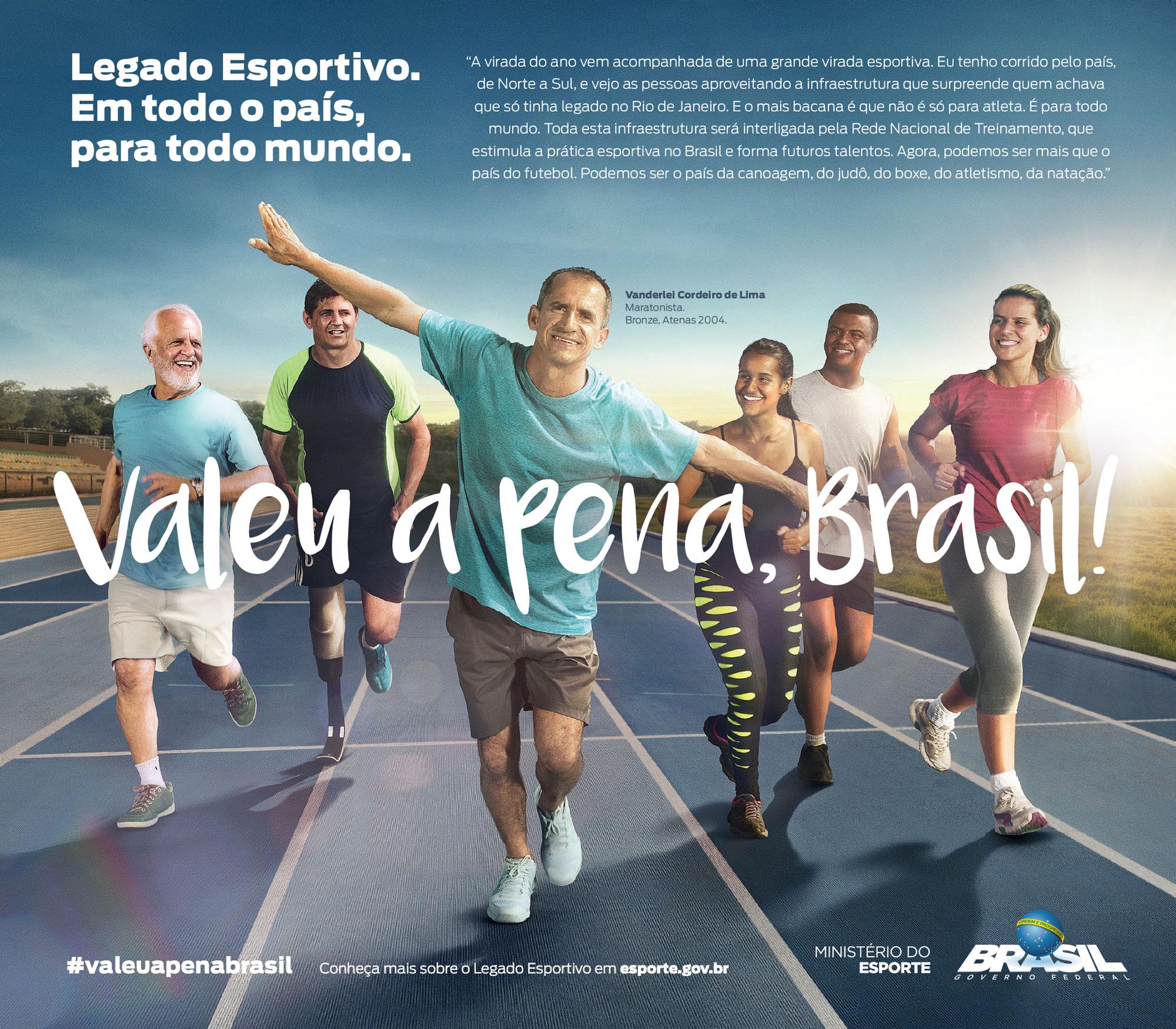 Ministério do Esporte - Virada