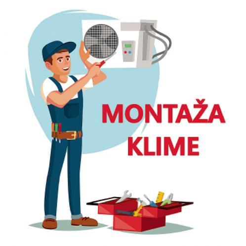 Montaža klima uređaja