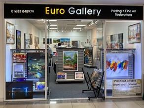 Euro Gallery is Open