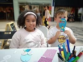 Children crafts Kingsway Centre Newport