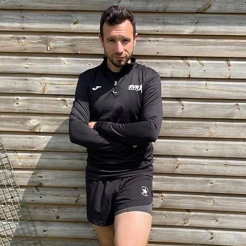 Ribble Valley Runners ¼ zip sweatshirt (mens)