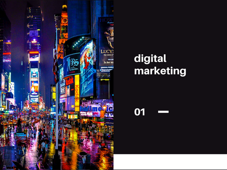 Qu'est-ce que le marketing digital?