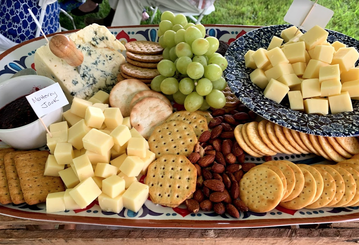 Cheese Board Display