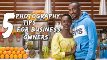 5 Photography tips for business owners