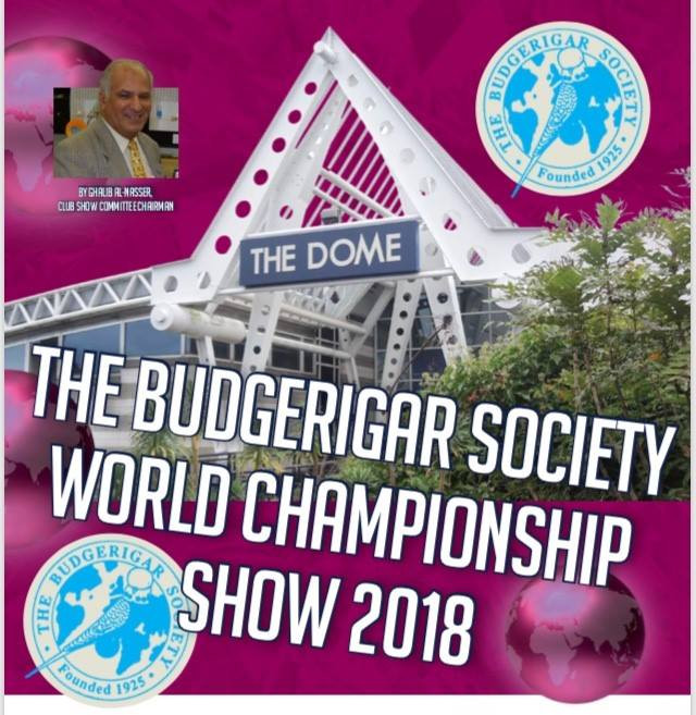 Budgerigar Society World Championship Show 2018