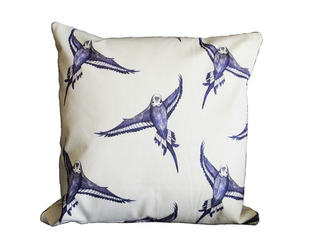 Latest Jenny K Home Design: Bird in Flight Patterned Cushion Cover / Throw Pillow - Ideal Cottage Ch