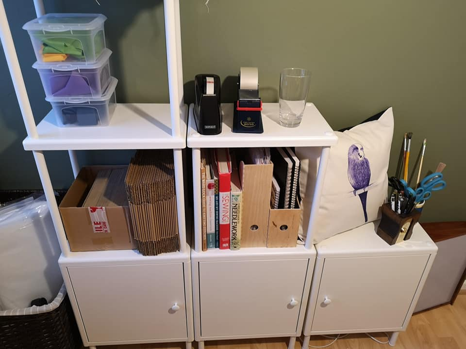 IKEA furniture assembled