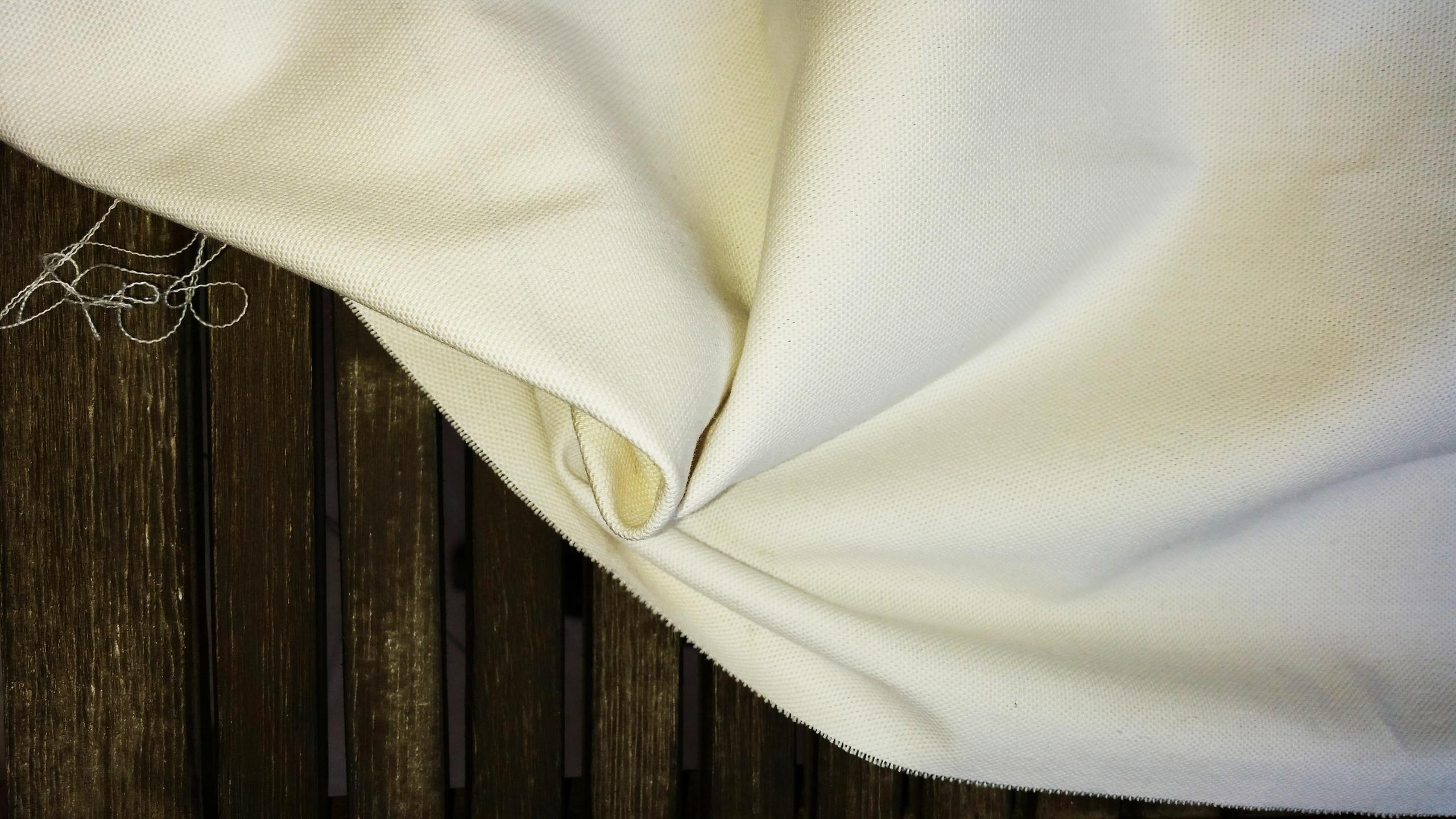 White half panama fabric