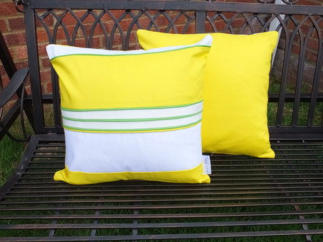 Brighten Up Your Home with Spring / Summer Cushions on #EarthDay