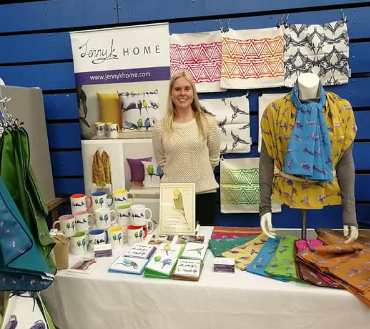 Jenny K Home Stall at the Budgerigar Society World Championship Show