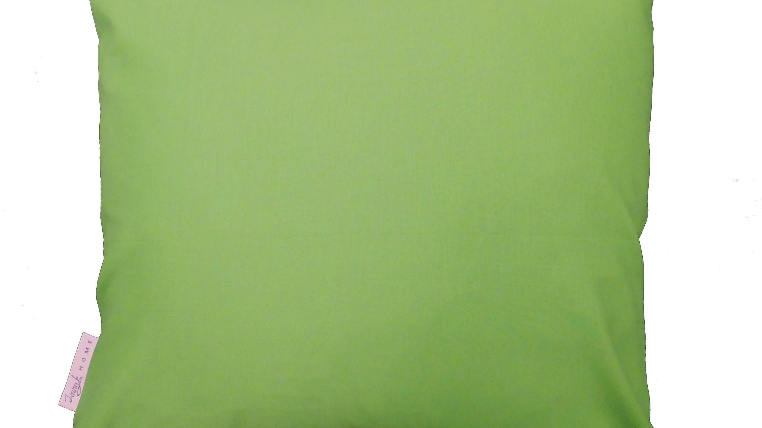 Jenny K Home Budgie Bird Cushion Pillow Aviary Colourful Handmade UK - Green back 2 - transparent-min