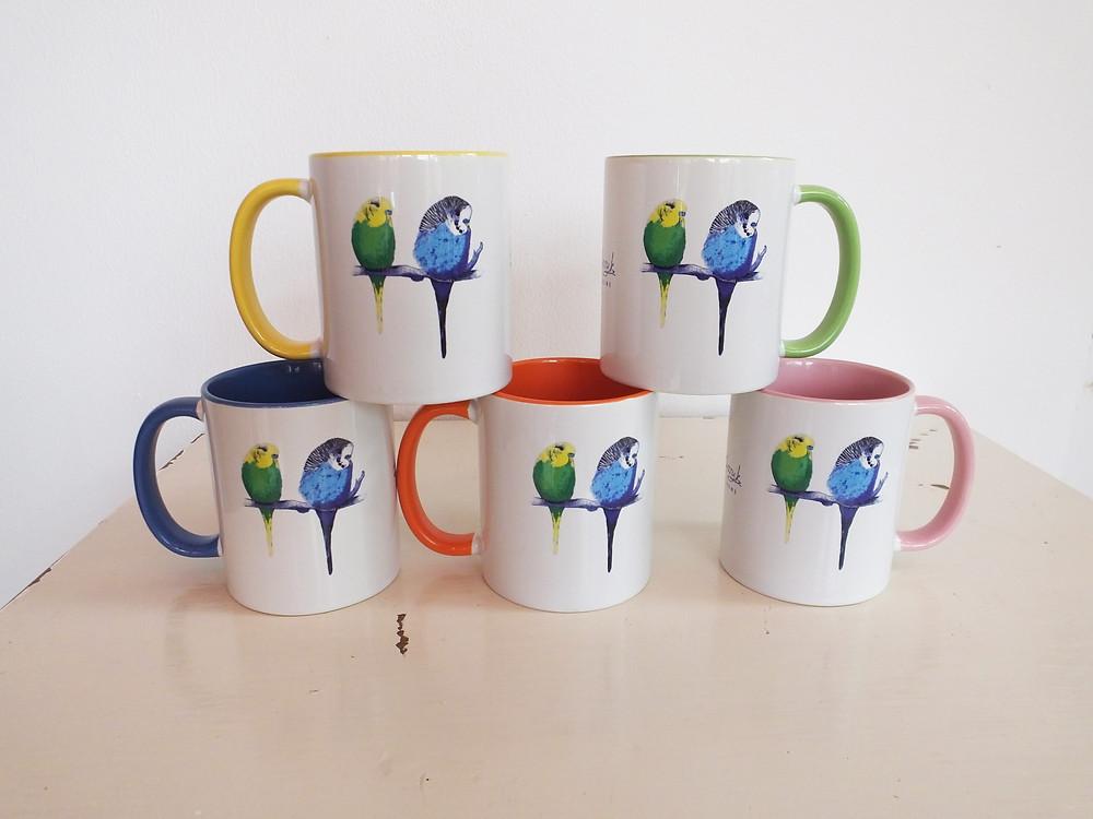Budgie Gifts - Mugs Jenny K Home