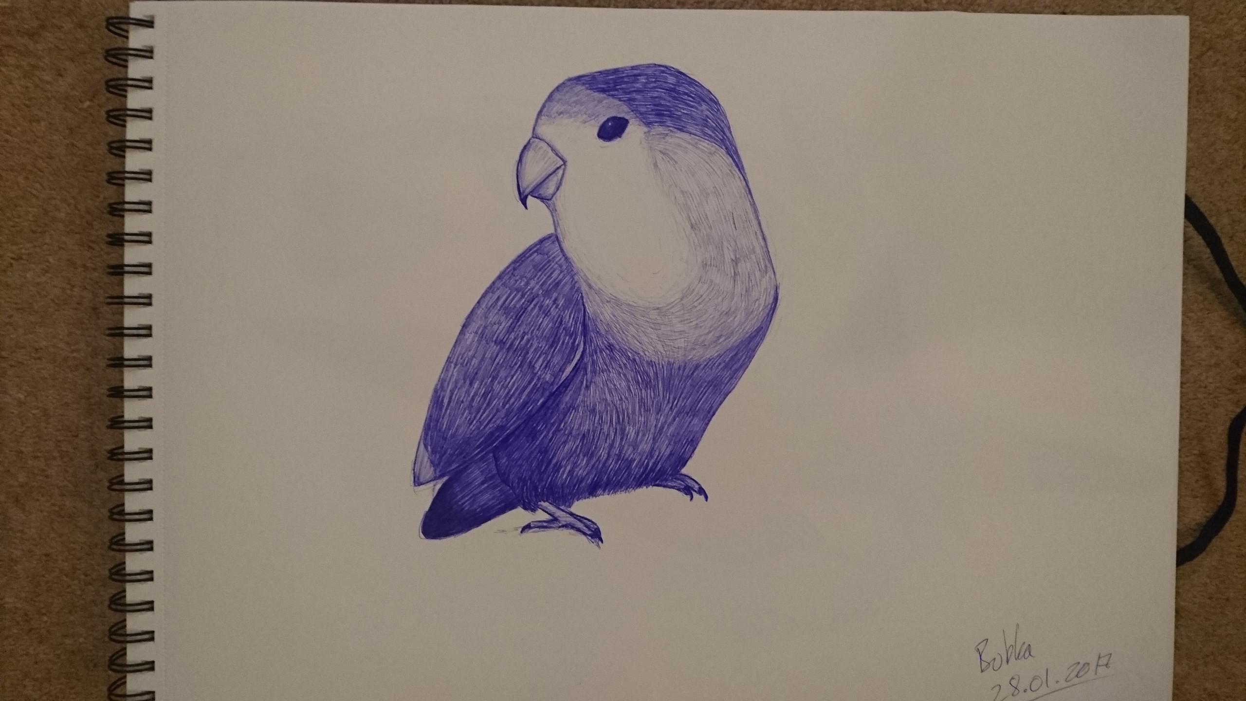 Bubba Sketch 1