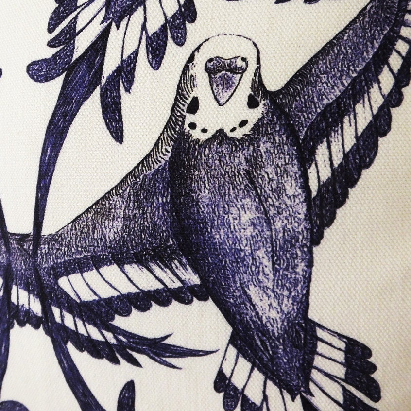 close-up-budgie-cushion-throw-pillow-pattern-cotton-quality-fabric