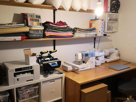 Jenny Revamps Sewing Room for her Handmade Budgie Gifts in Bedfordshire, UK
