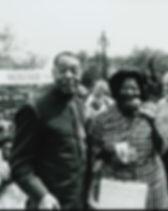 Duke Ellington and Mahalia Jackson