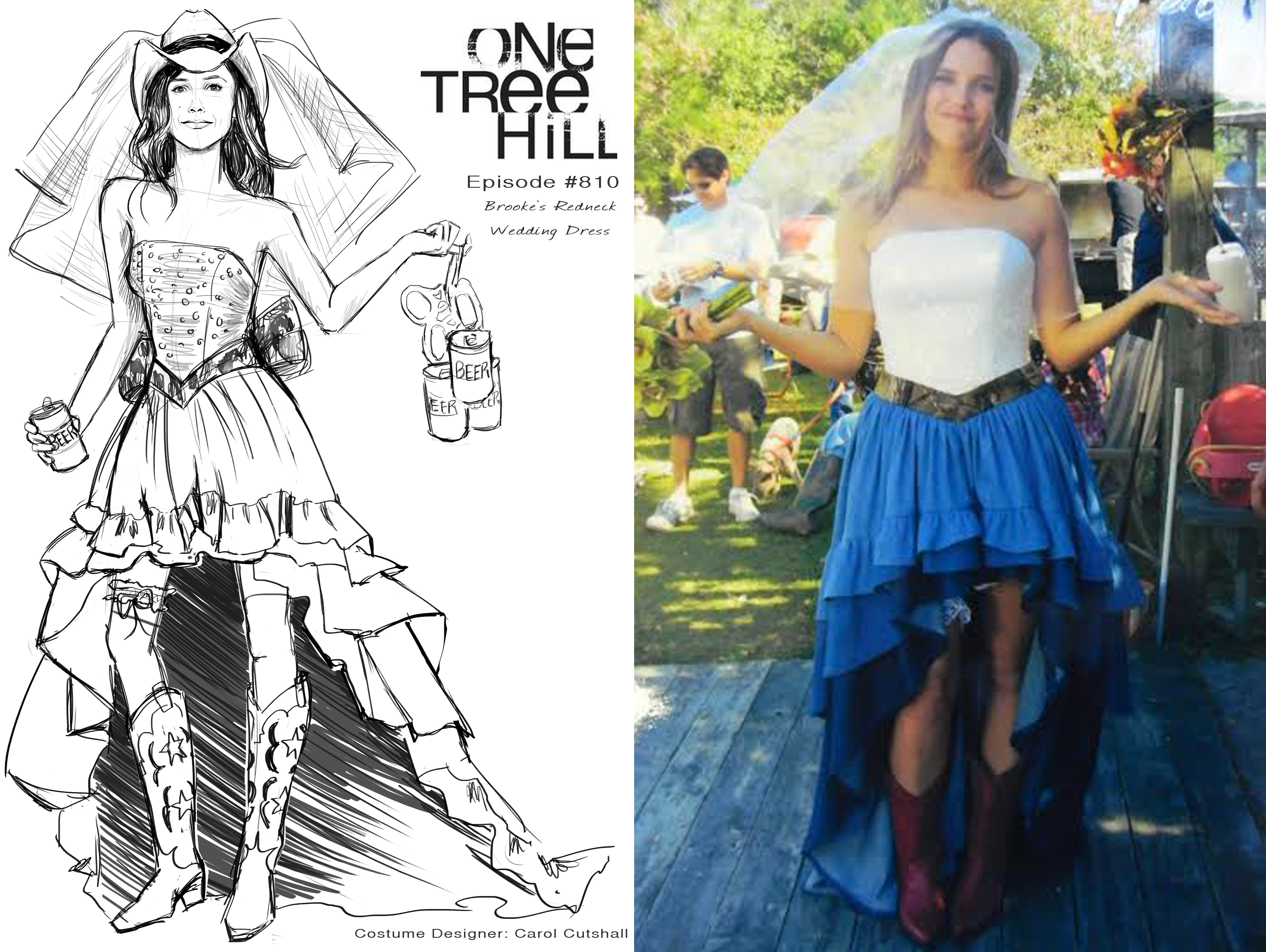 Hillbilly Wedding Dress