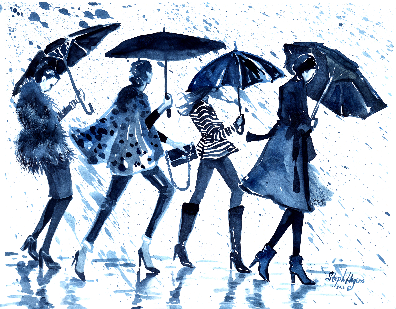 """""""Blue Umbrellas"""""""