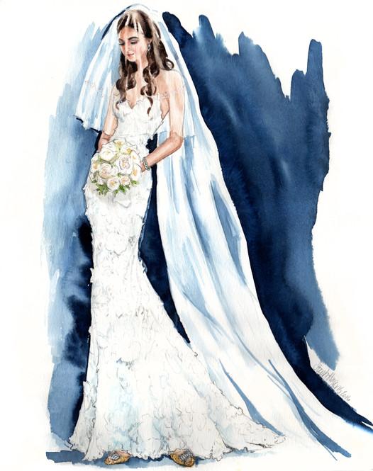 Stefanie Bridal Portrait
