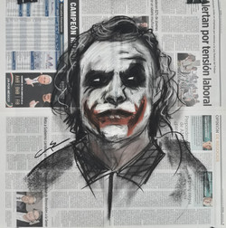 """The Joker in the News"""