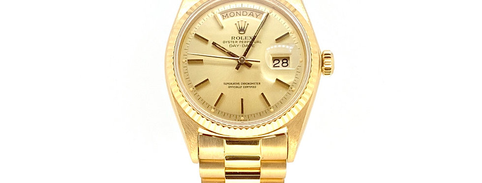 ROLEX DAY-DATE PRESIDENT 18 CT YELLOW GOLD  - 1803 - 12.400€