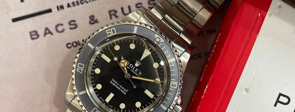 ROLEX SUBMARINER 5513 - 13.800€